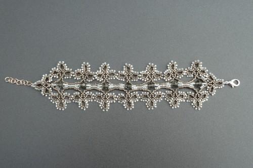bracelet tourvelle gris et blanc vue 2.JPG